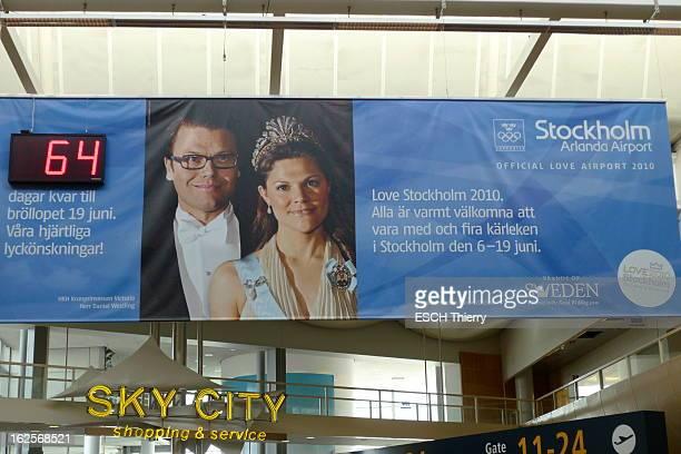 The Marriage Of Princess Victoria Of Sweden Preparations Le 19 juin la princesse héritière Victoria de Suède épousera Daniel WESTLING à l'aéroport de...