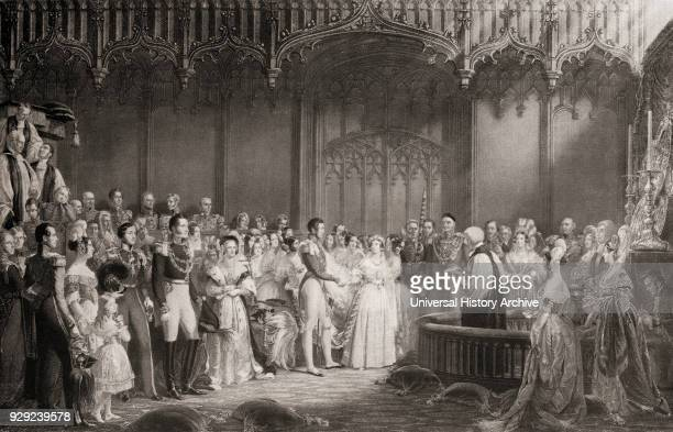 The Marriage of Queen Victoria and Prince Albert 1840 Queen Victoria Alexandrina Victoria 1819 – 1901 Queen of the United Kingdom and Empress of...