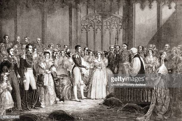 The marriage of Queen Victoria and Prince Albert of SaxeCoburg and Gotha 10 February 1840 Victoria 1819 – 1901 Queen of the United Kingdom of Great...