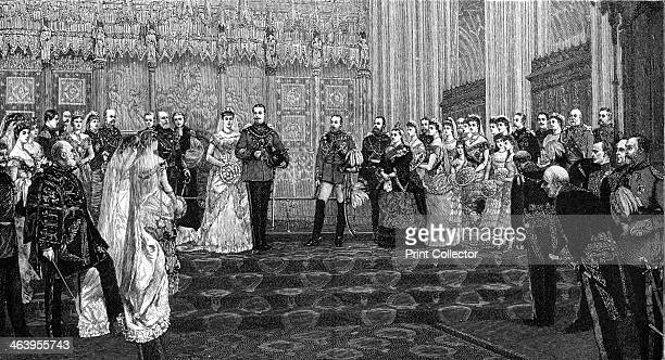 The Marriage of the Duke and Duchess of Albany 27 April 1882 Prince Leopold a son of Queen Victoria married Princess Helena of Waldeck and Pyrmont at...