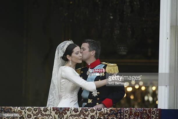 The Marriage Of The Prince Frederik Of Denmark Le mariage du prince FREDERIK DE DANEMARK avec l'australienne Mary DONALDSON à COPENHAGUE le prince...
