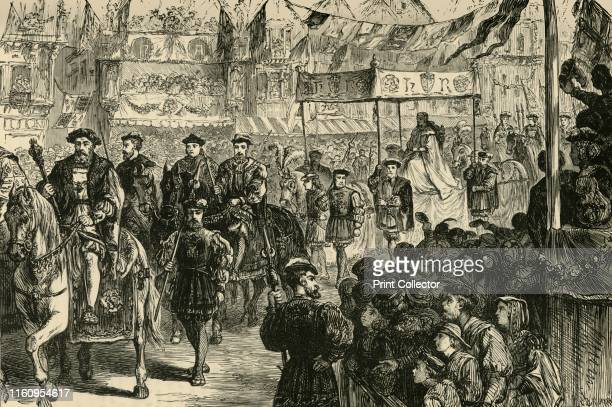 The Marriage Procession of Anne Boleyn' 1890 Coronation pageant of Anne Boleyn on the 25 of January 1533 when she became Queen of England by marriage...