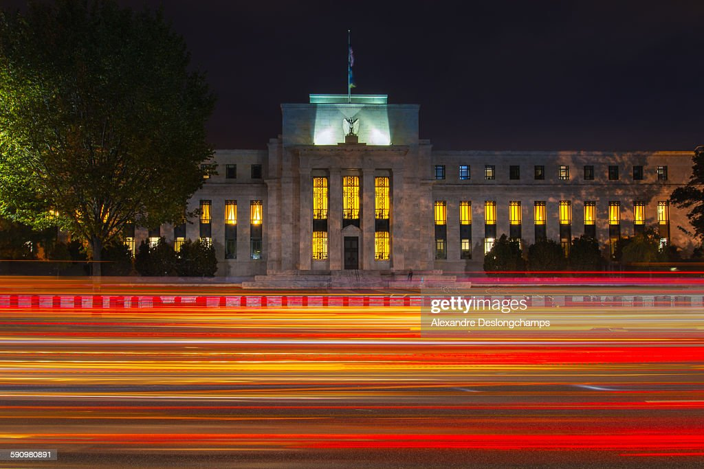 The Marriner S. Eccles Federal Reserve Board Build : Stock Photo