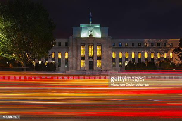 the marriner s. eccles federal reserve board build - monetary policy stock pictures, royalty-free photos & images