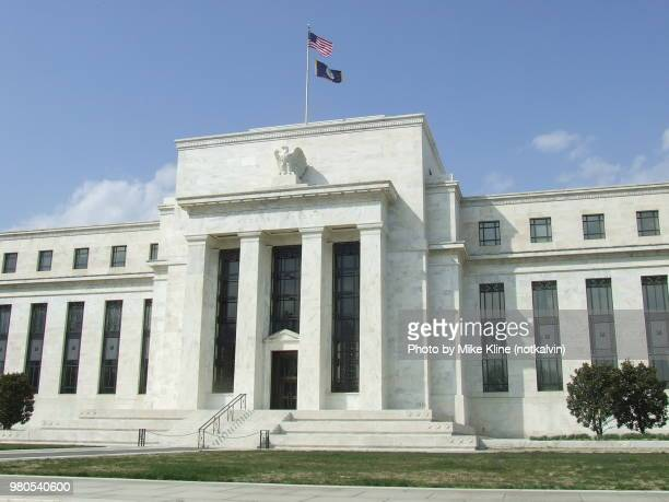 the marriner s. eccles federal reserve board building - federal reserve stock pictures, royalty-free photos & images