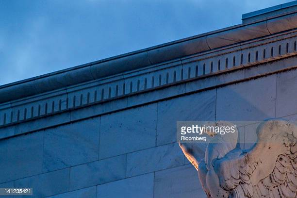 The Marriner S. Eccles Federal Reserve building stands in Washington, D.C., U.S., on Tuesday, March 13, 2012. Federal Reserve Chairman Ben S....