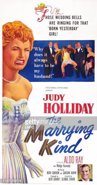 The Marrying Kind poster US poster art left Judy Holliday bottom right Aldo Ray 1952