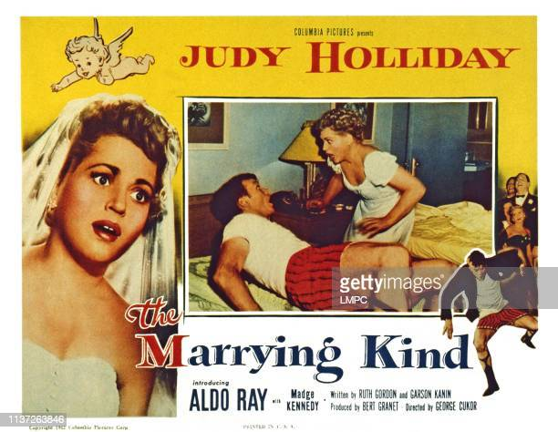 The Marrying Kind US lobbycard from left Judy Holliday Aldo Ray Judy Holliday 1952