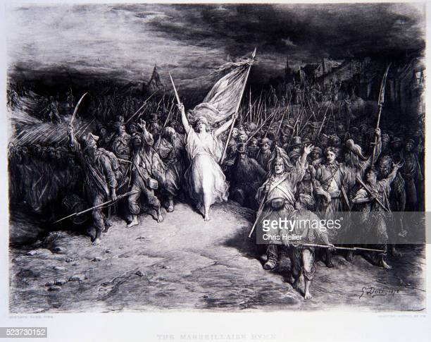The Marseillaise Hymn by Gustave Dore