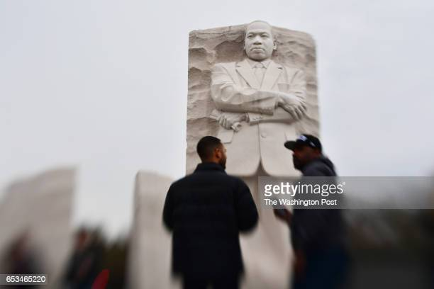 The Martin Luther King Jr Memorial is seen on Monday March 06 2017 in Washington DC The memorial was dedicated and opened in 2011