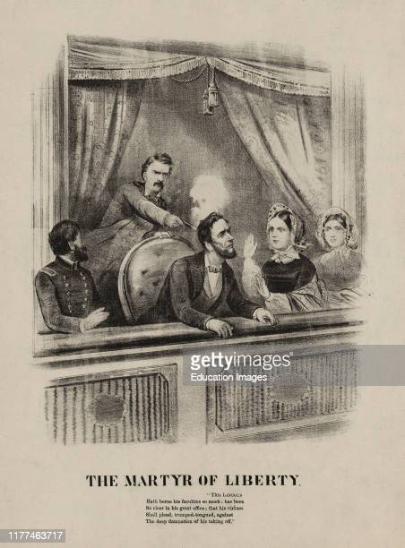 The Martyr of Liberty Assassination of President Lincoln Ford's Theatre Washington April 14 1865
