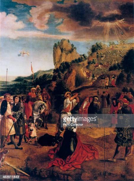 'The Martyrdom of Saint Catherine' 16th century