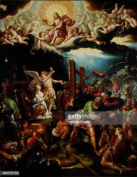 The Martyrdom of Saint Catherine of Alexandria Mid of the 18th cen Found in the collection of the Museo Nacional de Arte Mexico