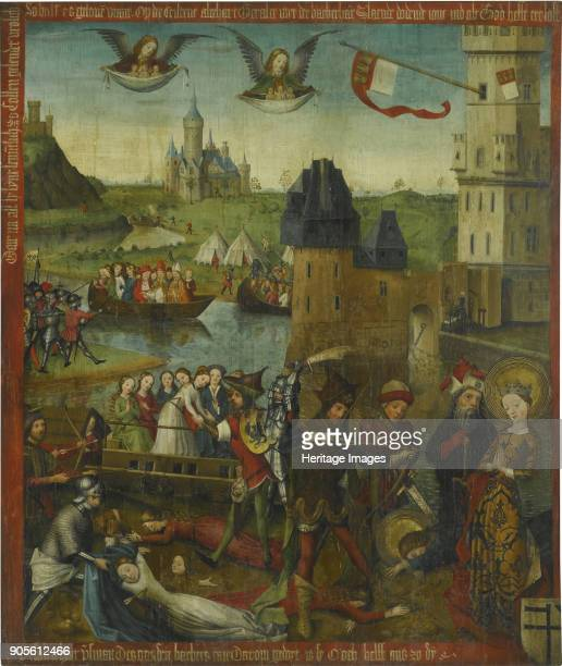 The Martyrdom of Saint Ursula and the Eleven Thousand Virgins of Cologne Private Collection