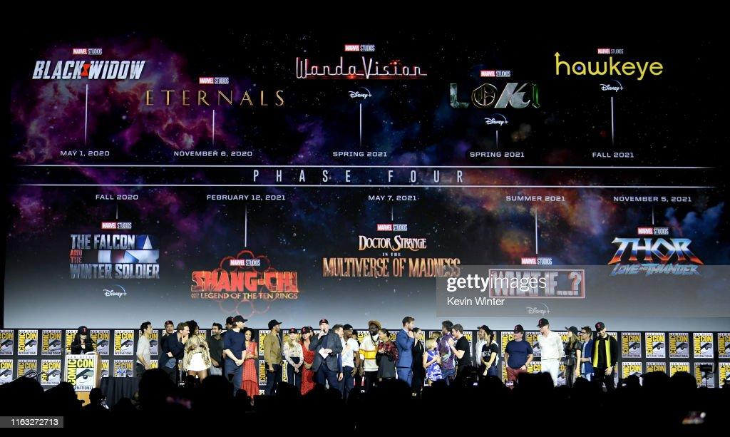 2019 Comic-Con International - Marvel Studios Panel : Nachrichtenfoto