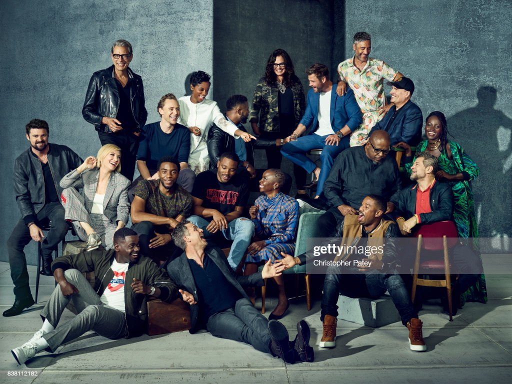 Marvel Stars of Comic Con, Hollywood Reporter, June 25, 2017