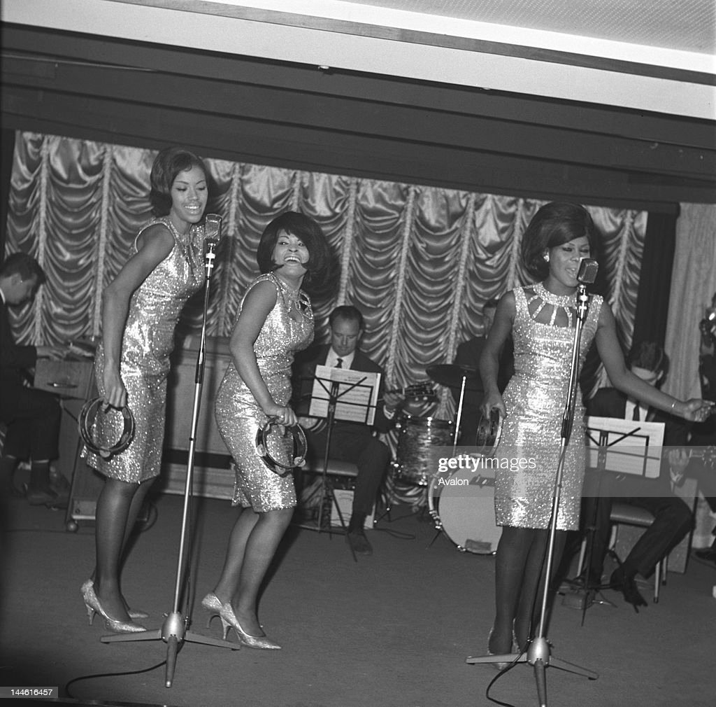 The Marvelettes visiting the UK for a TV/radio promotional tour