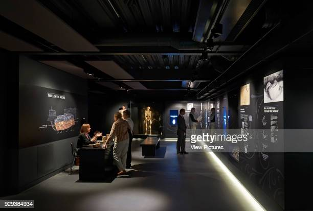 The Mary Rose Museum Portsmouth United Kingdom Architect Wilkinson Eyre Architects 2013 Lower deck exhibition space