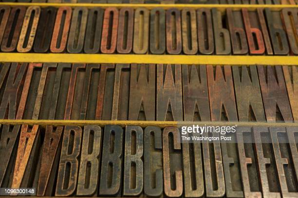 FEBRUARY 11 The Maryland Institute College of Art purchased the majority of the printing press lettering after the historic company went out of...