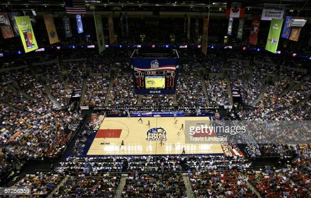 The Maryland Terrapins take on the Duke Blue Devils for the 2006 NCAA Women's Basketball Championship Game on April 4 2006 at the TD Banknorth Garden...