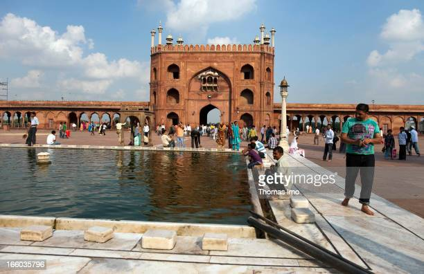 October 17: The Masjid-i Jahan-Numa , Jama Masjid mosque in Delhi is the largest mosque in India and one of the largest in the world, located on a...