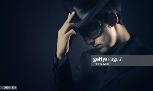 the masked dark man