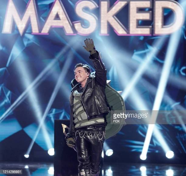 Jesse McCartney in the Couldnt Mask For Anything More: The Grand Finale! season finale episode of THE MASKED SINGER airing Wednesday, May 20 on FOX.
