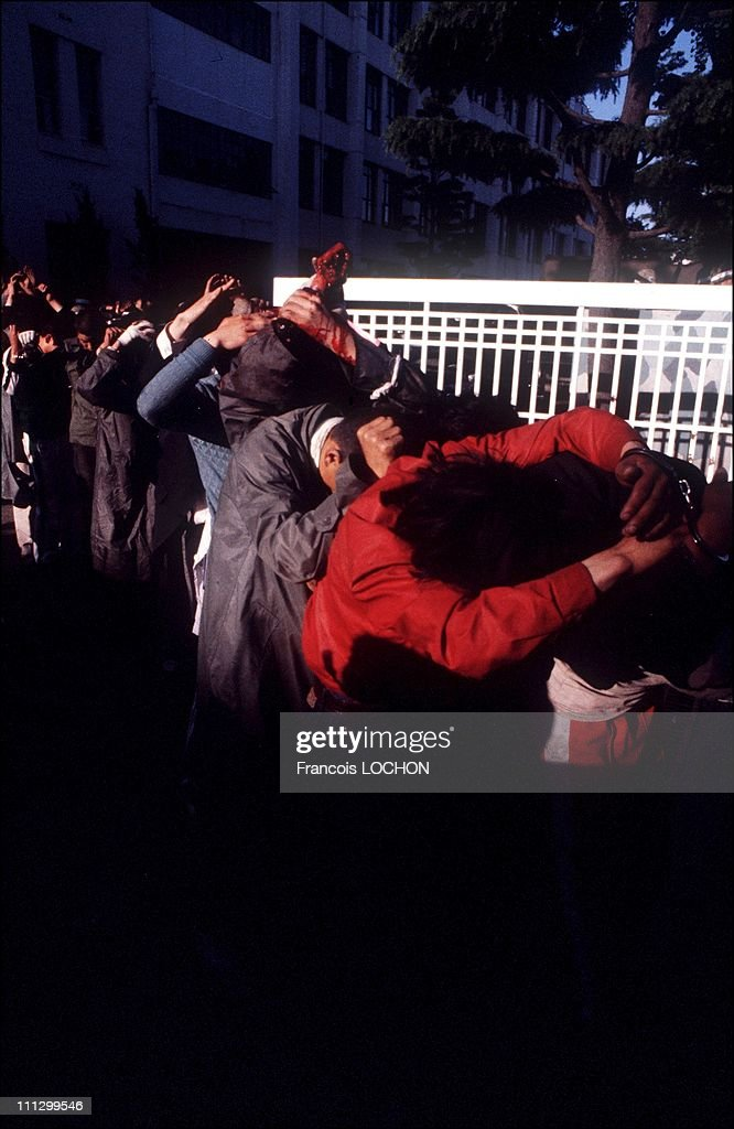 The massacre in Kwangju, in which over 2,000 people, most of them young students, were killed and many more injured, tortured, imprisoned by the South Korean military after an uprising against the Chun Doo Hwan dictatorship, May 1980 in Gwangju,South Korea. .
