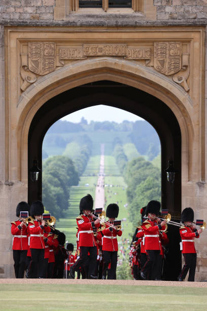 GBR: Trooping Of The Colour 2021