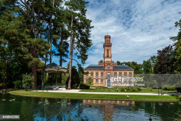 the massey museum,tarbes, hautes pyrenees,france - タルブ ストックフォトと画像