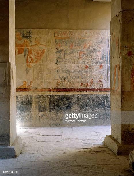 The mastaba of Mereruka Egypt Ancient Egyptian Old Kingdom 6th dynasty Saqqara