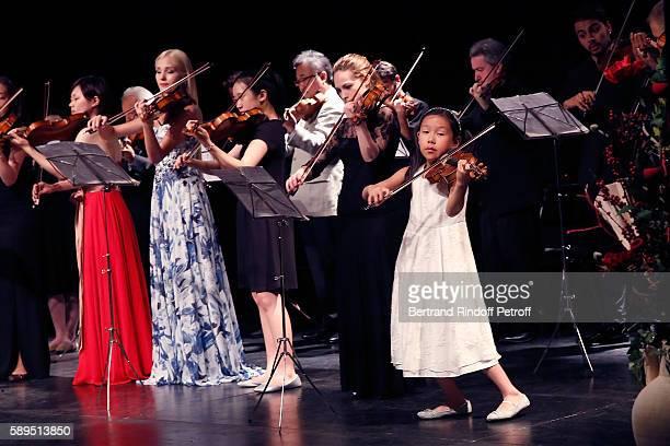 The Master Class 2016 Helen Yunn Julia Iwanciw Choi Jooha NaYoun Kim Anastasiya Petryshak Tatjana Roos Ying Zhang Dali Zirakasvili and Leia Zhu...
