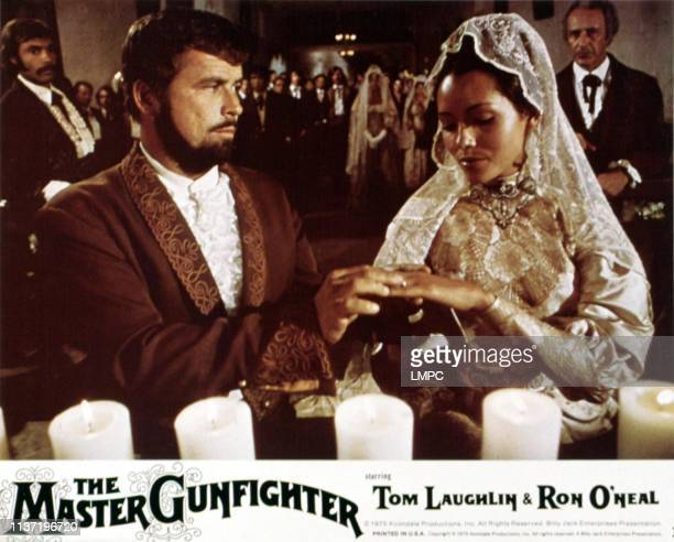The Master Gunfighter lobbycard US poster art Tom Laughlin Barbara Carrera 1975