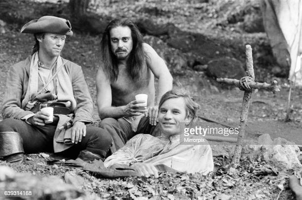 The Master of Ballantrae TV Film a HTV Production 4th September 1983 Starring Michael York as James Durie Nickolas Grace as Dass and Richard Thomas...