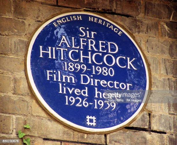 The master of Suspense Sir Alfred Hitchcock was honoured on the centenary of his birth with an English Heritage Blue Plaque being unveiled by his...