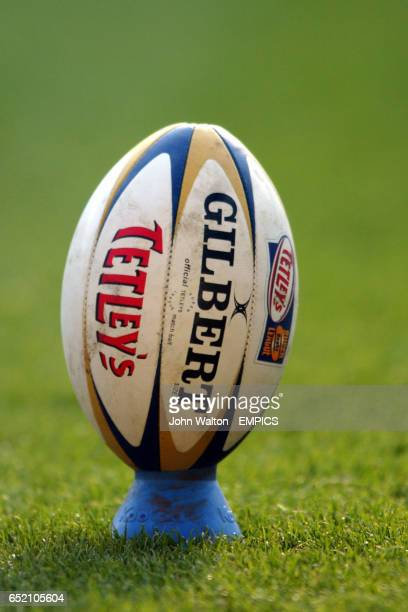 The match ball at the Hull v Widnes Vikings game
