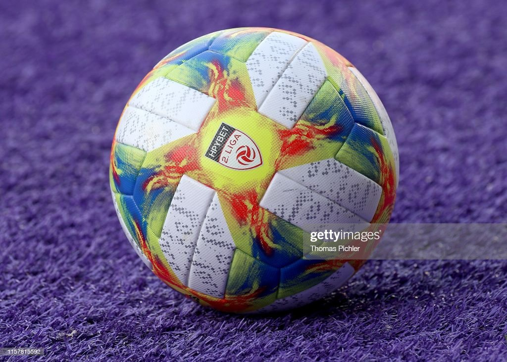 The Match Ball Of 2 Liga During The 2 Liga Match Between Young News Photo Getty Images