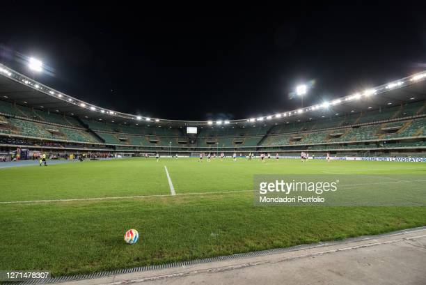 The match of the heart live from the Bentegodi Stadium in Verona with the challenges of the teams led by Alessandra Amoroso, Massimo Giletti, Gianni...