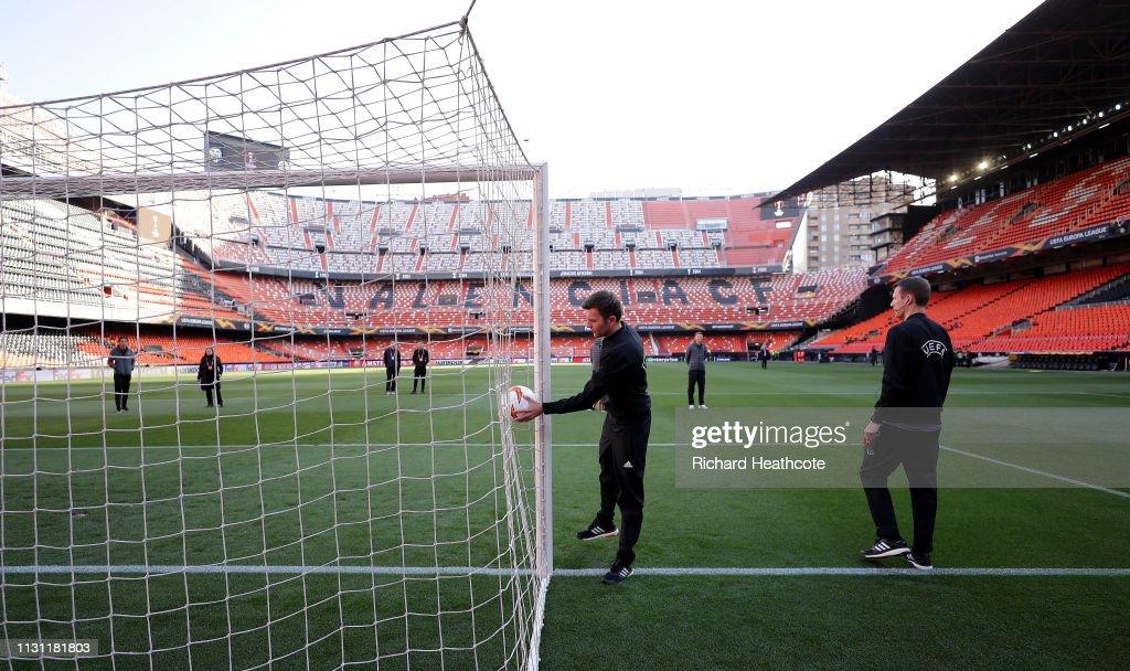 ESP: Valencia v Celtic - UEFA Europa League Round of 32: Second Leg