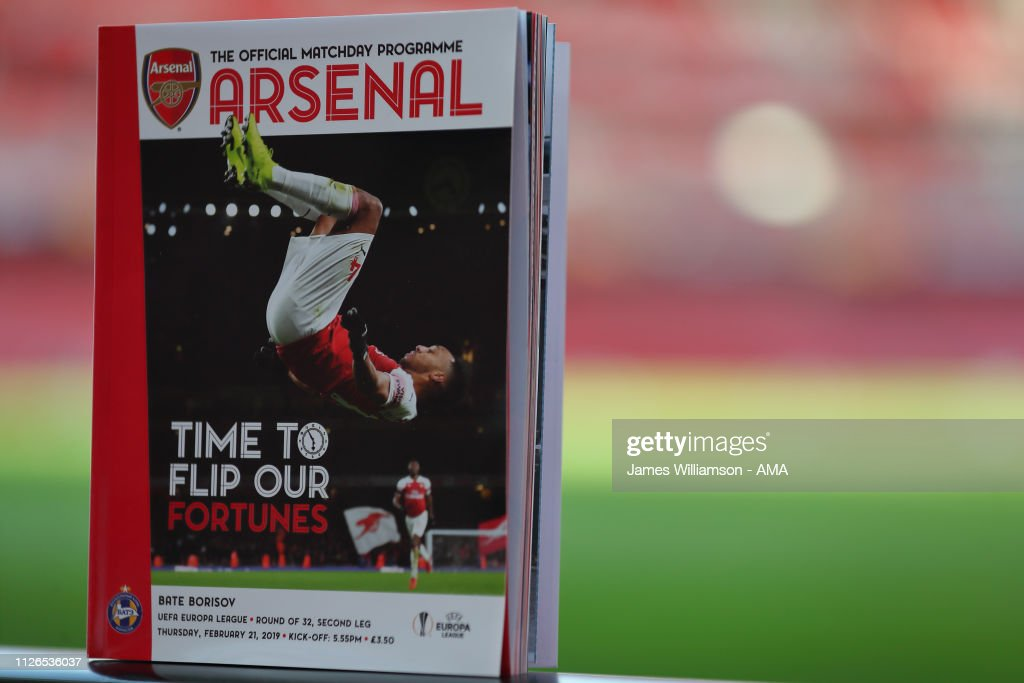GBR: Arsenal v BATE Borisov - UEFA Europa League Round of 32: Second Leg