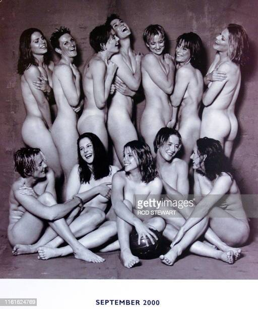 The Matildas' Australia's women's soccer team pose nude for a calendar produced to promote women's soccer in Australia in Sydney 30 November 1999...