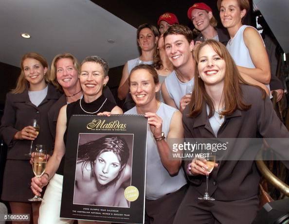 The Matildas - Australias Womens Soccer Team - Poses With A Nude News Photo -9718