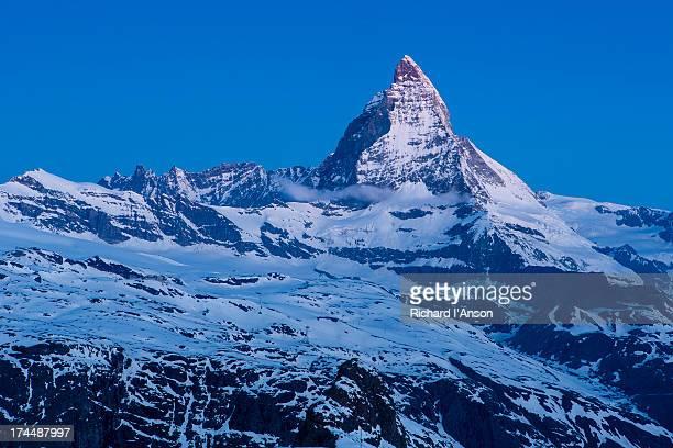 The Matterhorn (4478m), Pennine Alps at dawn