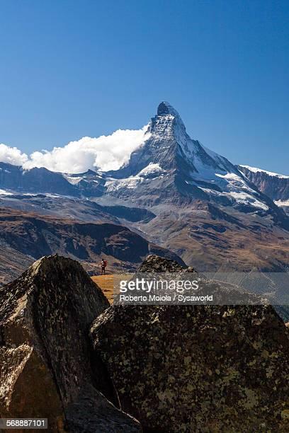 the matterhorn pennine alps switzerland - zermatt stock pictures, royalty-free photos & images