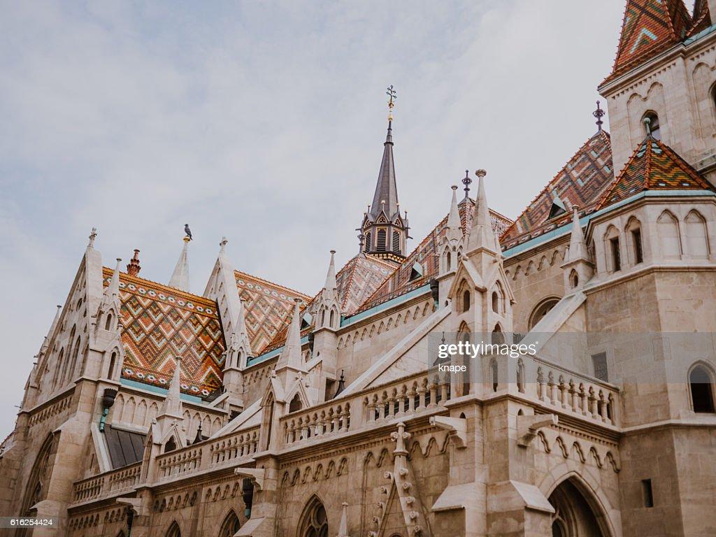 The Matthias Church in Budapest Hungary : Stock Photo