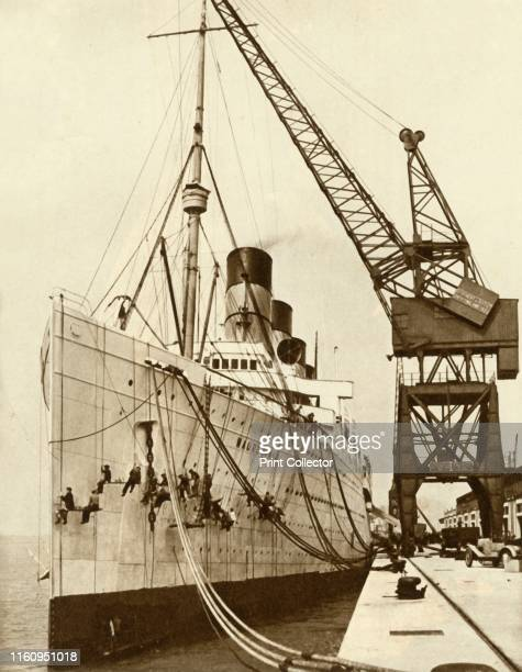 The 'Mauretania' In May 1922 'the liner Mauretania set a new record of 5 days 8 hours 56 minutes for the crossing from New York to Southampton In...