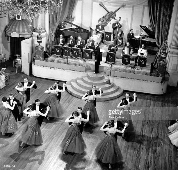 The Maurice Jay Formation Dancers performing during a televised dance competition Original Publication Picture Post 7032 Television Preview...