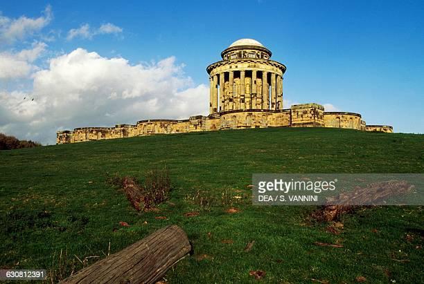 The Mausoleum Castle Howard garden architect John Vanburgh York England United Kingdom 18th century