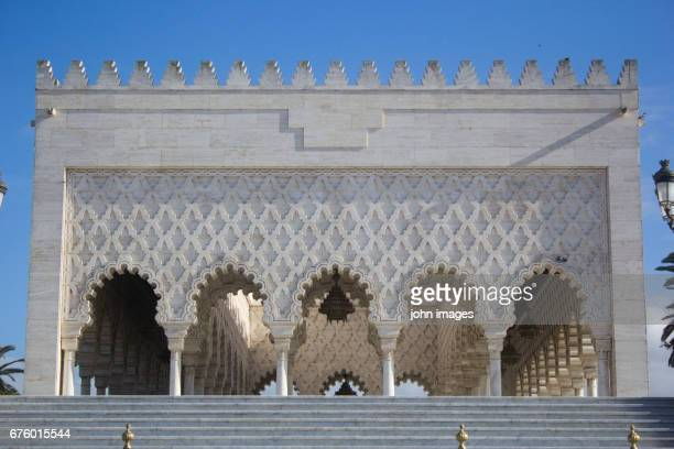 The Mausoleum Mohammed V is a royal tomb
