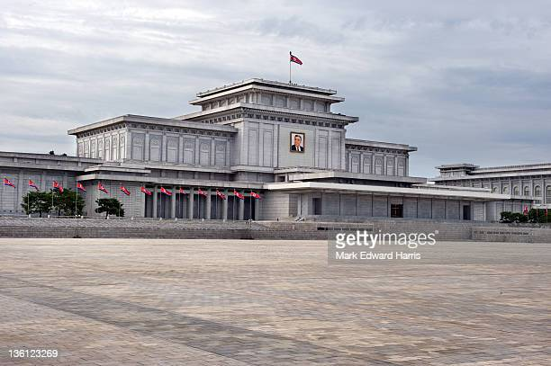 The mausoleum of Kim Il Sung is located in Kumsusan Memorial Palace on September 8, 2010 in Pyongyang, North Korea.